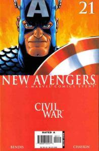 New Avengers (2005 series) #21, NM- (Stock photo)