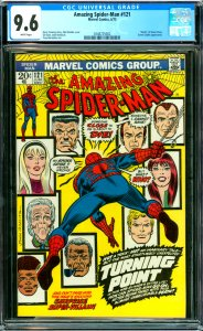 Amazing Spider-Man #121 CGC Graded 9.6 Death of Gwen Stacy. Green Goblin ap...