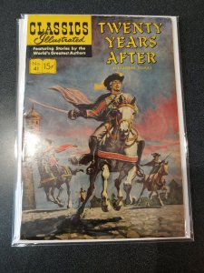 CLASSIC ILLUSTRATED #41 GOLDEN AGE VF