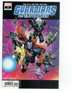 Guardians of the Galaxy #4 NM 2019 2nd Print Geoff Shaw Variant Marvel Cates