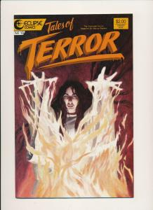 Eclipse Comics TALES OF TERROR #10 Horror Comic ~  VF/NM (PF553)