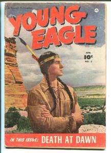 Young Eagle #3 1951-Fawcett-photo covers-western-VG MINUS
