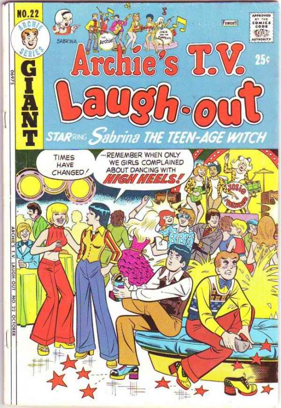 Archie's TV Laugh Out #22 (Oct-72) FN Mid-Grade Archie