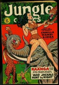 Jungle Comics #114 1949- Fiction House Elephant cover FN+