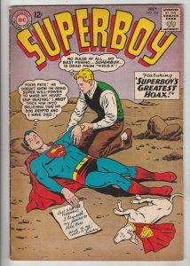 Superboy #106 (Jul-63) FN/VF+ High-Grade Superboy