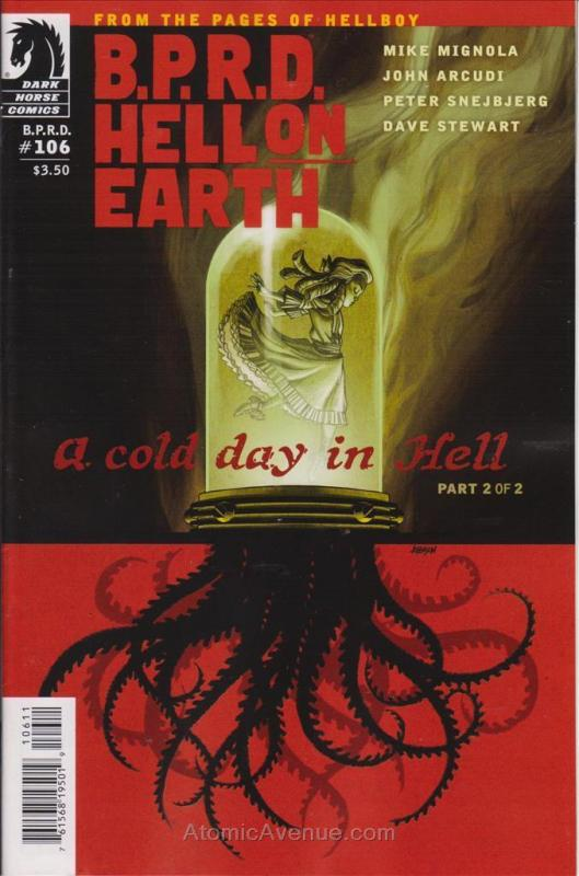 B.P.R.D. Hell On Earth: A Cold Day In Hell #2 FN; Dark Horse | save on shipping
