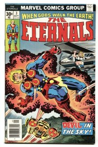 THE ETERNALS #3--First appearance Sersi Comic Book Marvel 1976 VF
