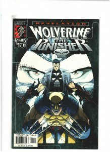Wolverine/Punisher: Revelation #4 VF+ 8.5 Marvel Comics 1999 Pat Lee