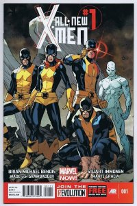 All-New X-Men #1 2013 Marvel Comics Stuart Immonen