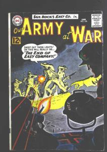 Our Army at War (1952 series) #126, Fine- (Actual scan)