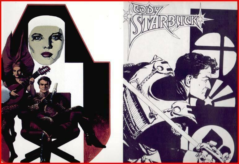 CHAYKIN(1980)color folioCODY STARBUCK 20YRS!!