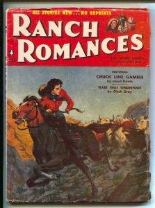 Ranch Romances 7/27/1956-Seven Men From Now Randolph Scott-Kinstler-Gerald ...