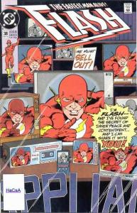 Flash (1987 series) #38, VF+ (Stock photo)