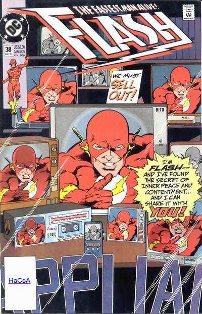 Flash (1987 series) #38, VF+ (Stock photo)