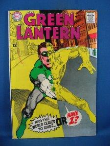 Green Lantern #63 (Sep 1968, DC) F+ CLASSIC COVER