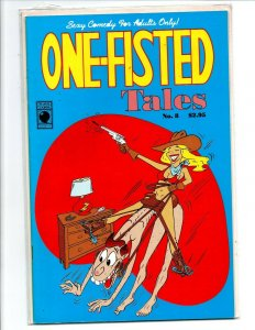 One Fisted Tales #8 - Slave Labor Comics - Near Mint