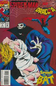 Spider-Man vs. Dracula #1 VF; Marvel   save on shipping - details inside