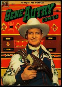 GENE AUTRY COMICS #41 1950-DELL-PHOTO COVER-JESSE MARSH VG/FN