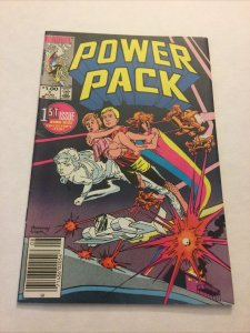 Power Pack 1 Vf Very Fine 8.0 Newsstand Edition Marvel Comics