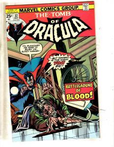 Tomb Of Dracula # 32 NM Marvel Comic Book Horror Fear Vampire Monster TW64