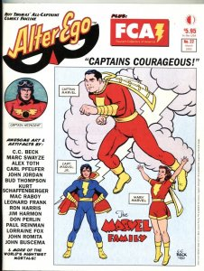 ALTER EGO #22-2003-SUBMARINER-CAPTAIN MARVEL-CAPTAIN MIDNIGHT-ALEX TOTH