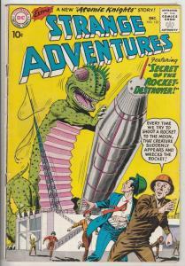 Strange Adventures #123 (Dec-60) FN/VF Mid-High-Grade Atomic Knights