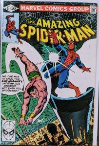 The Amazing Spider-Man #211 (1980) SUB-MARINER!!! HOT!