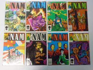 Nam, Set:#1-29 Missing:#2,6, 27 Different, Average 8.5/VF+ (1986)