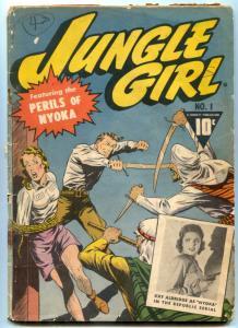 Jungle Girl #1 1942- Perils of Nyoka- Golden Age G