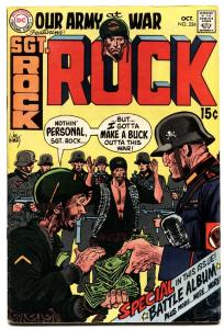 OUR ARMY AT WAR #224 comic book-SGT. ROCK-DC