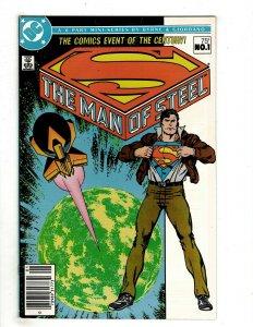 13 DC Comics The Man of Steel # 1 2 3 4 5 6 Identity Crisis # 1 2 3 4 5 6 7 OF1