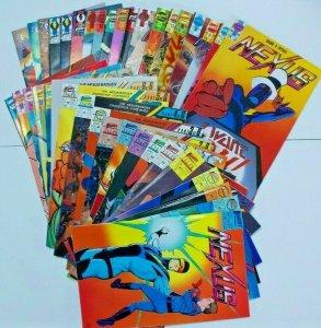 Nexus 37-60, 63-69, 72-73, 78-79, Alien Justice 1-3 (38 books)