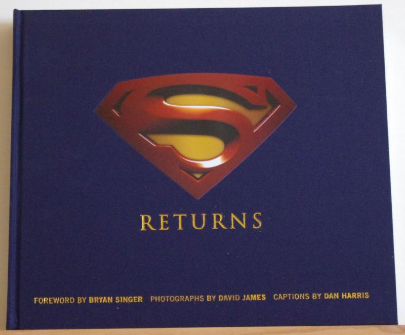 SUPERMAN RETURNS hc, NM, w/slipcase, Photo, 2006, hardcover book, David James