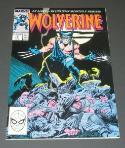 Wolverine #1 VF/NM White Pages John Byrne 1st Wolverine as Patch Marvel Comic