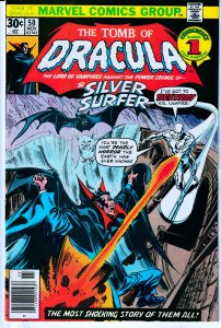 Tomb of Dracula(vol. 1) # 50 THE SILVER SURFER !
