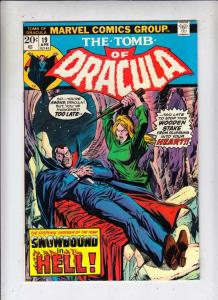 Tomb of Dracula #19 (Apr-74) VF/NM High-Grade Dracula