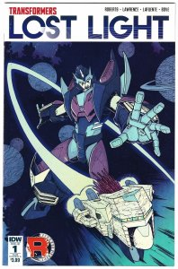 Transformers Lost Light #1 (IDW, 2016) FN