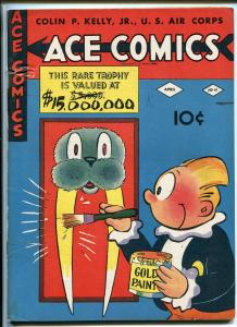 ACE COMICS #61 1942-DAVID MCKAY-PHANTOM-PRINCE VALIANT-BLONDIE-HAL FOSTER-vg+
