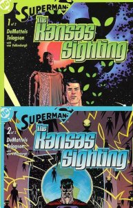 SUPERMAN KANSAS SIGHTING ( 2003) 1-2  complete!