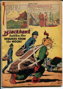 Modern #64 1947-Quality-Blackhawk-Spisy Torchy story-Reed Crandall-FR
