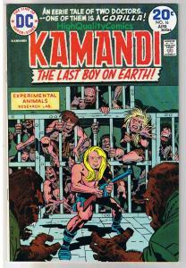 KAMANDI #16, Jack Kirby, Last Boy on Earth, 1972, VF/NM
