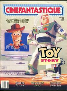 CINEMAFANTASTIQUE 11/1995-TOY STORY-JAMES BOND-007-GOLDENEYE-CAPT ZOOM-fn minus