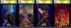 New Mutants Dead Souls #1 VARIANT LOT A B C D CGC SS 9.8 signed J.Scott Campbell