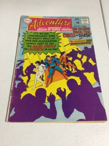 Adventure Comics 367 Vg+ Very Good+ 4.5 Stained DC Comics