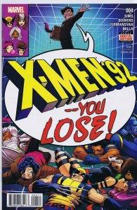 X Men '92 #4 ORIGINAL Vintage 2016 Marvel Comics