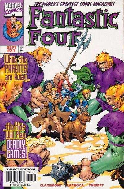 Fantastic Four (1998 series) #21, NM + (Stock photo)