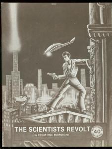 Burroughs Bulletin Fanzine #40 1974-SCIENTISTS REVOLT reprint VF/NM
