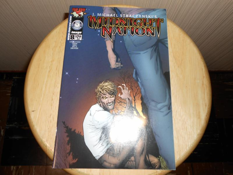 Midnight Nation (2000) #8 Jul 2001 Cover price $2.50 Top Cow