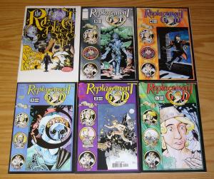 Replacement God and Other Stories #1-5 VF/NM complete series + #6 zander cannon