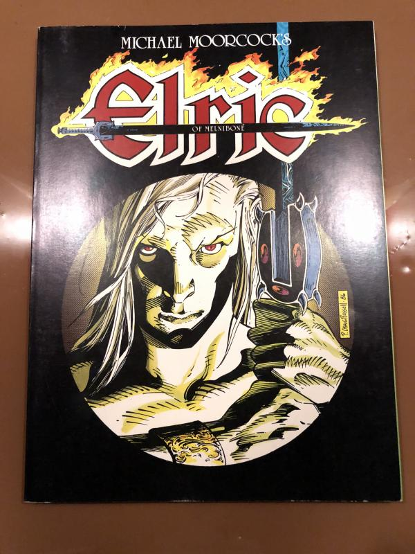 Elric of Melnibone first graphic novel 1986 Michael Moorcock